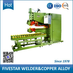 Traditional Longitudinal Seam Welding Machine for Steel Oil Drum Making pictures & photos