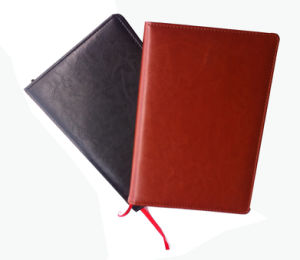 High Quality Various Colour Leather Notebook (YY-0206) pictures & photos