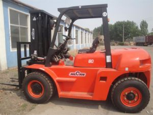 6ton Diesel Forklift Truck with CE and ISO (CPCD60F)