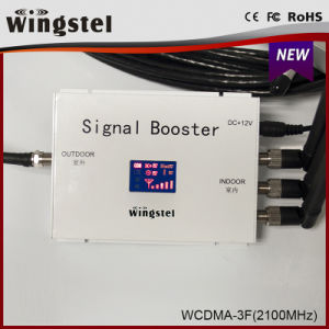 2016 New Design 1000m2 WCDMA 2100MHz 3G Cellphone Signal Booster with LCD pictures & photos