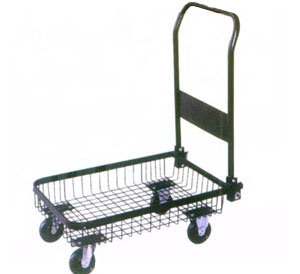 wire-mesh cage platform cart(PH1556) pictures & photos