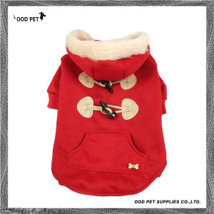 Buttons Deco Red Blank Dog Clothes (SPJ6021-1) pictures & photos