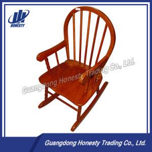 Ly002 Antique Wooden Children Rocking Chair