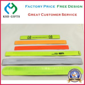 Reflective Night Event Slap Wrist Band (KSD-1129) pictures & photos
