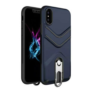 Impact Tuff Hybrid Armor Rubber Rugged Case Phone Cover for iPhone X pictures & photos