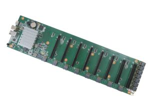 8 PCI-E Slot Motherboard - for Mining, Mining Industry, Suitable for Etheric Currency Operation