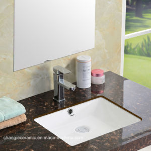 Classical Square Bathroom Ada Vessel Sink 1639#