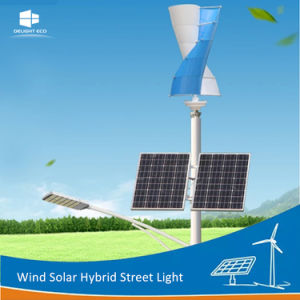 off-Grid Maglev Wind Generator Wind Solar Hybrid LED Street Light pictures & photos