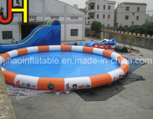Colorful Inflatable Round Swimming Pool for Kids and Adults