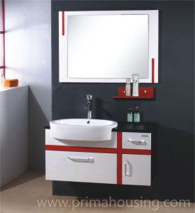 Latest Chinese Modern Bathroom Vanity Double Sink Bathroom Vanity pictures & photos