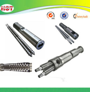 Conical Twin Screw Barrel for PVC Extruder pictures & photos