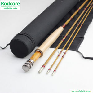 7ft6in 3piece 4wt Split Bamboo Fly Rod pictures & photos