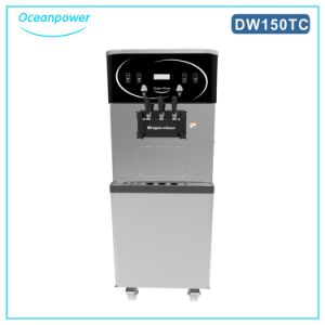 Soft Serve Ice Cream Machine Maker with Air Pump pictures & photos
