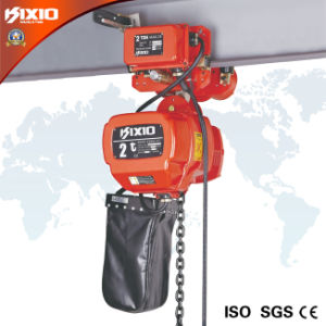 3 Ton Wireless Control Electric Chain Hoist (Low-HeadroomType) pictures & photos