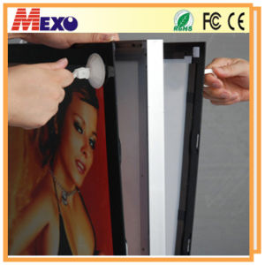 Hang LED Snap Aluminum Frame Light Box pictures & photos