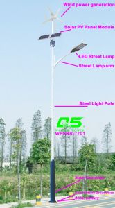 WPSRR-7701 3~15m Municipal Road Hot DIP Galvanized Steet Light Pole style pictures & photos