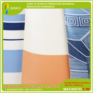 Manufacture Produce Striped Tarpaulin for The Awning pictures & photos