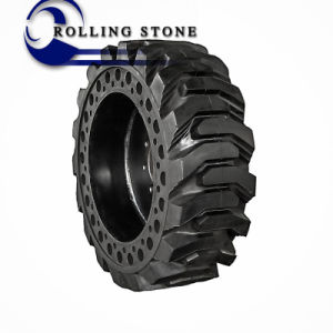 10-16.5 12-16.5 Solid Skid Steer Tire with Wheel for Canada Market pictures & photos