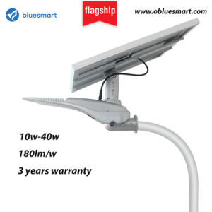 Factory Direct IP65 Solar LED Street Lamp Motion Detector Light with Lithium Battery