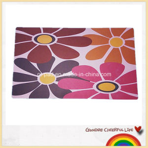Rubber Foaming Full Color Printing Floor Mat / Floormat