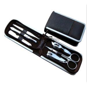 China Stainless Steel Manicure Nail Art Tool Kit 7 Pcs Mt01