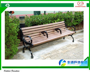 2015 Most Comfortable Plastic Wood Patio Furniture Street Bench/ Park Bench