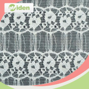 New Design Nylon Tricot Lace Nigeria Swiss Lace Fabric pictures & photos