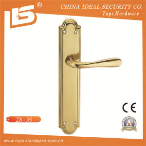 High Quality Brass Door Lock Handle-2839 pictures & photos