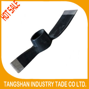 Hot Sale High Quality Rail Steel 65mn Mattock Pickaxe pictures & photos