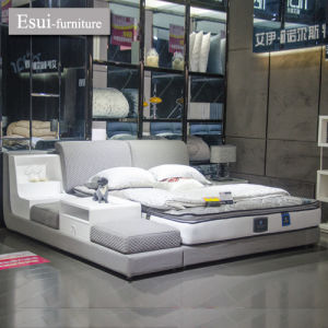 China The Global Hit and Modern Design Bedroom Furniture Fabric Bed ...
