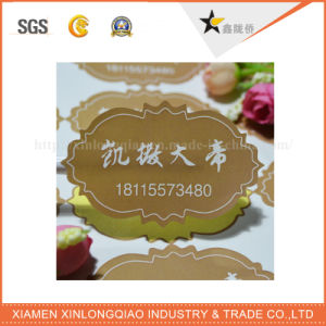 Custom Printed Labels Roll Waterproof Laser Tags Product Create Shipping Label pictures & photos