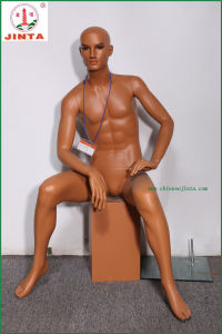 Full Body Sit Down Male Mannequin for Garmet Display (JT-J17) pictures & photos