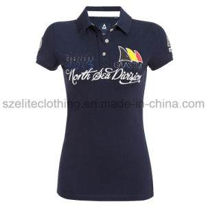 Custom Design Kids Polo Shirts (ELTWPJ-38) pictures & photos