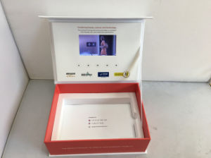 "2.4′′/2.8′′/4.3′/5""/7′/10′′ TFT LCD Video Card/LCD Video Booklet Box/Video Brochure for Advertising pictures & photos"
