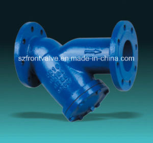Cast Iron/Ductile Iron Flanged Y-Strainers pictures & photos