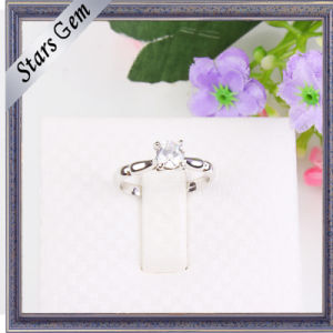 Whole Sale Synthetic Diamond Fashion Shinny Silver Jewelry pictures & photos