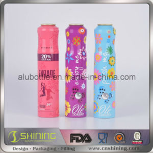 Empty Aluminum Aerosol Can for Foam Products Can Print