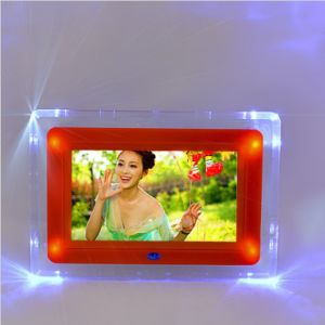 7 Inch Acrylic Digital Photo Frame with LED Light pictures & photos