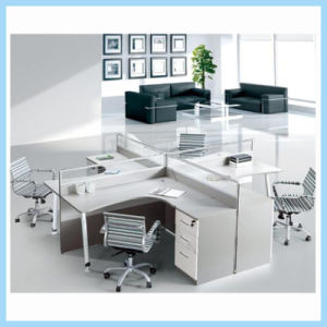 Economy Office Furniture Four Person Cubicle Office Desk Workstation