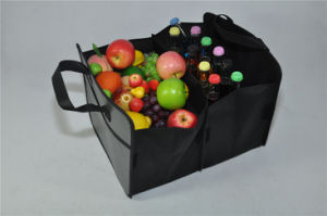 BSCI Audit Factory Big Tote Bags/Clear Tote Bag/Tote Bag (MECO457) pictures & photos