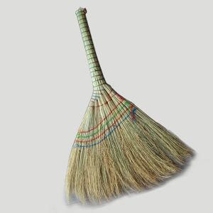 Wholesale Natural Grass Short Handle Broom Corn Broom