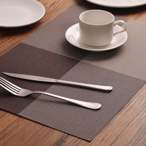 Anti-Skid Heat Insulation PVC Placemat Tablemat for Hotel