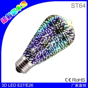 New Decoration Bulb E27 3.5W LED Warm White 3D Decorative Edison Light Bulbs Holiday Light pictures & photos