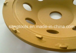 PCD Cup Wheel for Concrete Floor Grinding pictures & photos