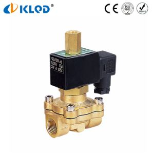 220V AC Brass Normally Open Solenoid Valve for Water pictures & photos