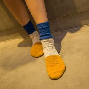 Colorful Cotton Socks Girl Stocking Warm Winter Socks