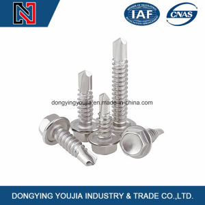 Hexagon Head Self-Drilling Tapping Screws with Collar pictures & photos