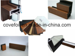 PMMA (acrylic) Faced PVC Foil for Exterior Use for Window Profiles