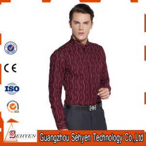 Top Quality 100% Cotton Men Formal Business Dress Shirts pictures & photos