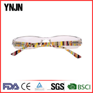 Conjoined Lenses Clear Plastic Frame Reading Glasses (YJ-240) pictures & photos